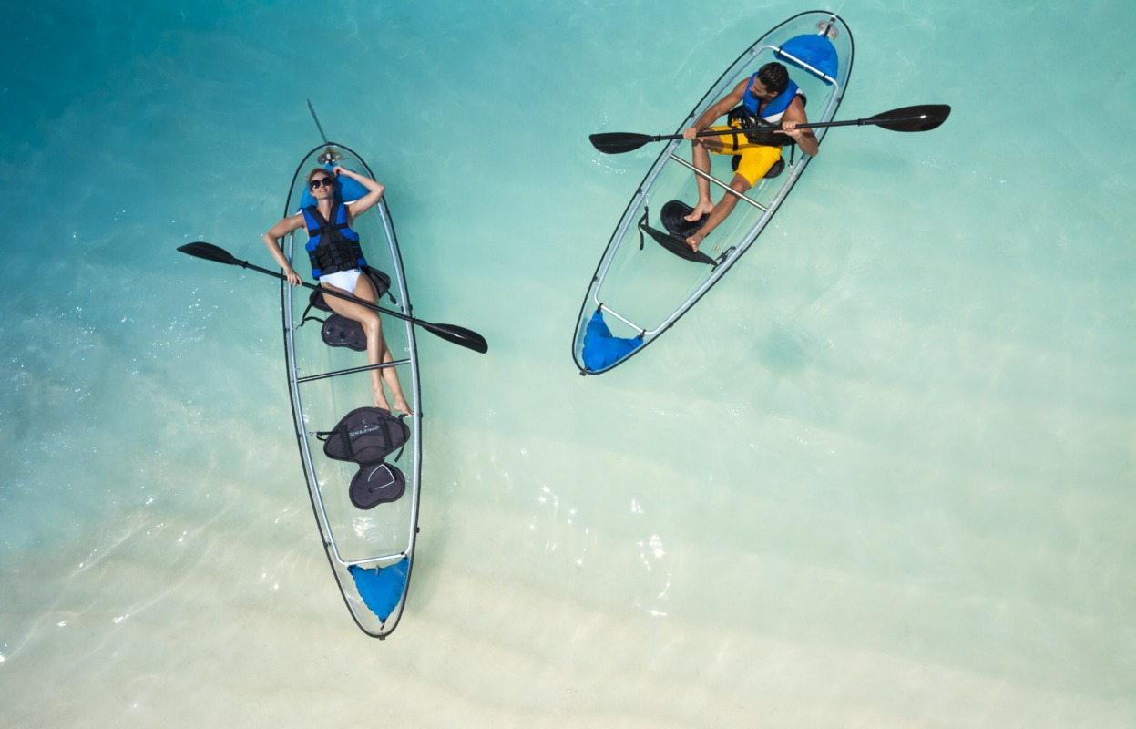 Escursioni ai Caraibi in Kayak e Paddle Board